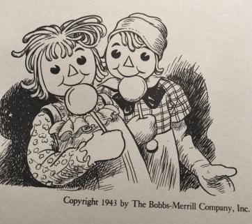 Raggedy Ann&Andy1943
