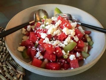 Watermelon tomatillo