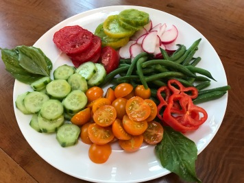 veggie dish for salad dressing