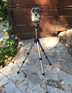 Trail camera ready for business.