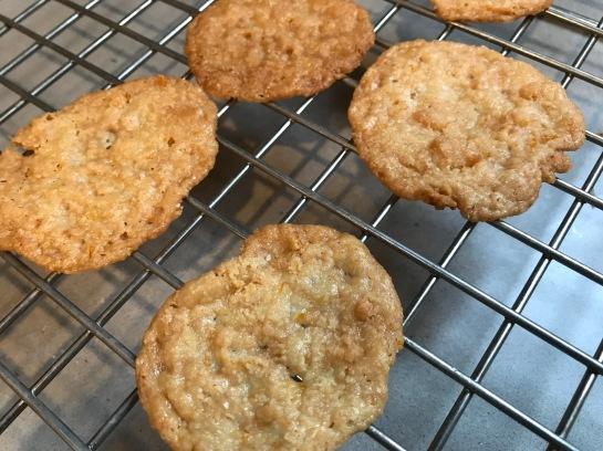 Almond_orange cookies