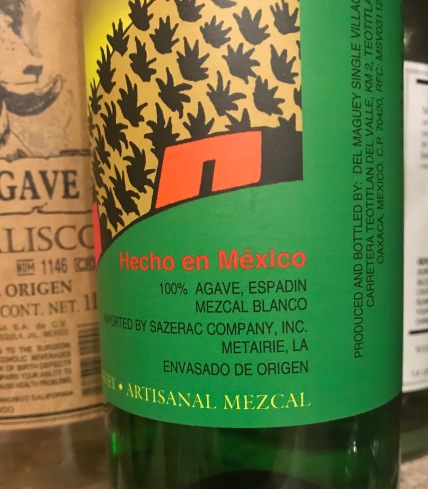 Mezcal Bottle