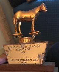 Horse trophy 1959