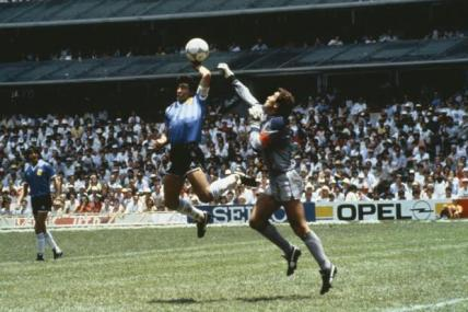 "Maradona's ""Hand of God"""