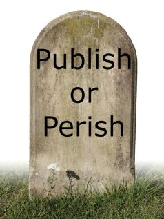 Publish or perish tombstone