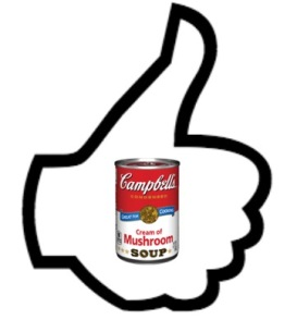 thumbsup campbell soup