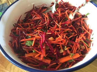 Carrot and Beet Slaw