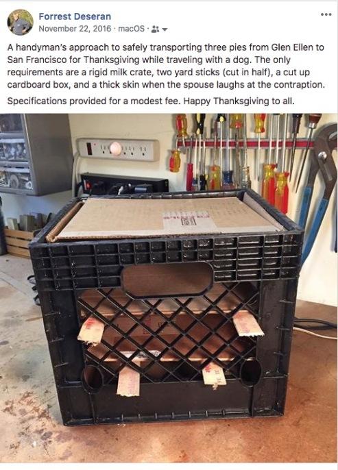 facebook pie carrier