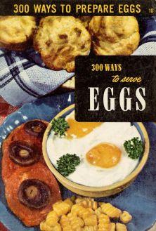 vintage egg cookbooki