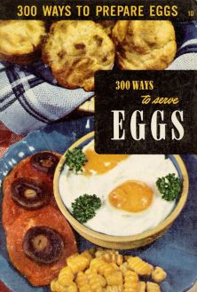 vintage egg cookbooki