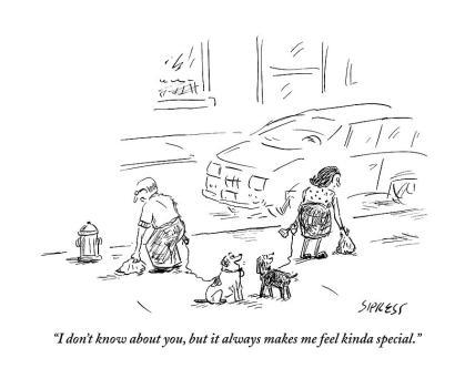 dog poop pickup cartoon