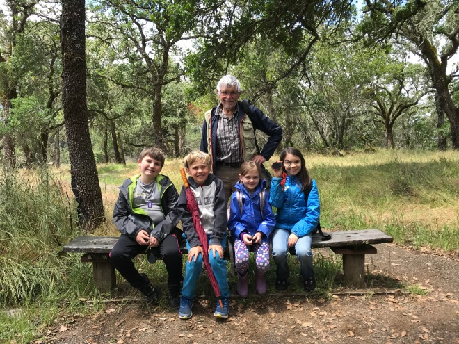 Bouverie hike spring 2019 Prestwood Elementary