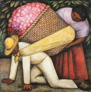 the-flower-carrier-diego-rivera