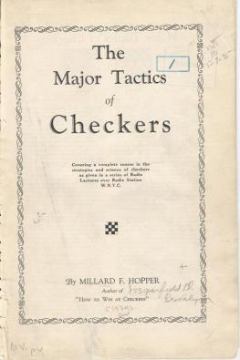 checkers majortactics