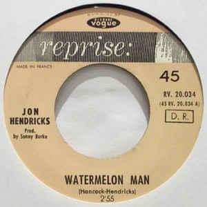 jon hendricks water melon man