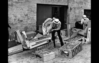 Pinball Games and Cranes considered gambling machines on May 15, 1940 - Given the sledge hammer and made illegal in Los Angeles County.