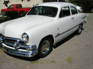 51 ford white