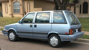 Nisan wagon 1987